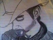 My Brad Paisley drawing