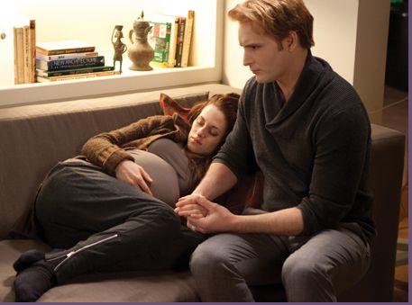Carlisle tries to save Bella