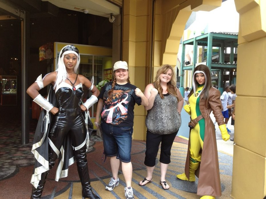 Me, my friend and the X-Women