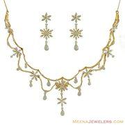 my beautiful necklace & earrings from Katie & Garrett