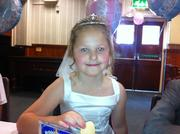 Daisy at her First Holy Communion