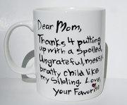My gorgeous new mug.