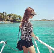 Leo took this on our honeymoon. <3