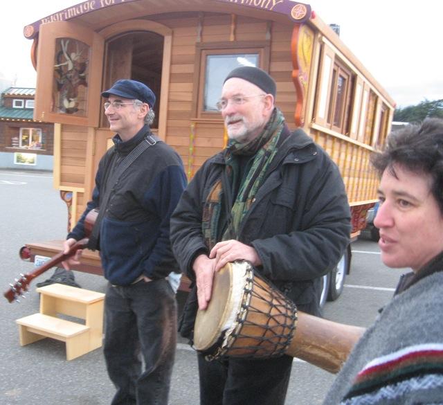 SingPeace! Rob, Laurence, Janice