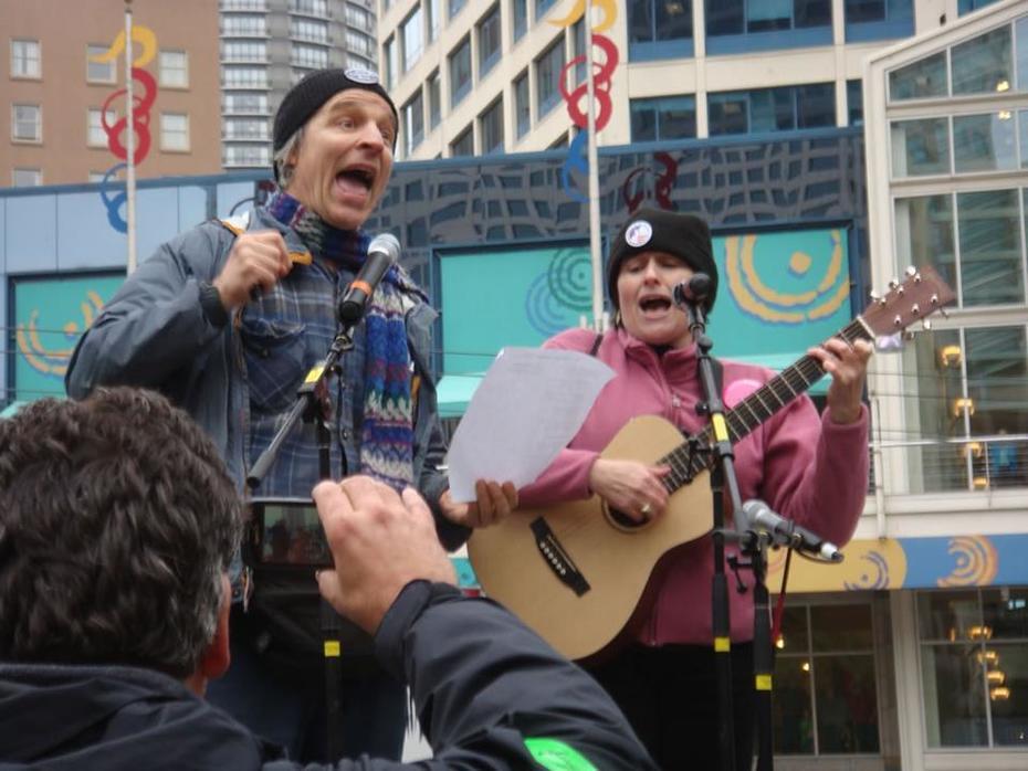 SingPeace @ Occupy Seattle