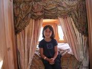 SingPeace! gypsy wagon visitor