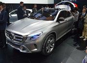 Mercedes Benz GLA concept Shanghai