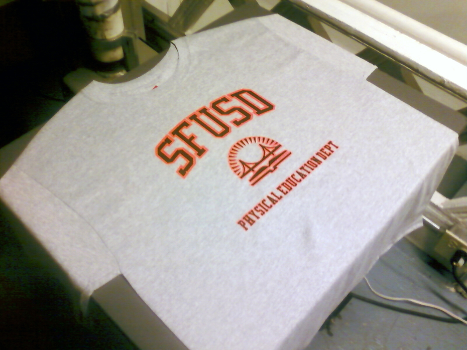 SFUSD P.E. Dept. T-Shirt