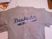 Deutsche Bank Custom Cotton Baseball Uniforms