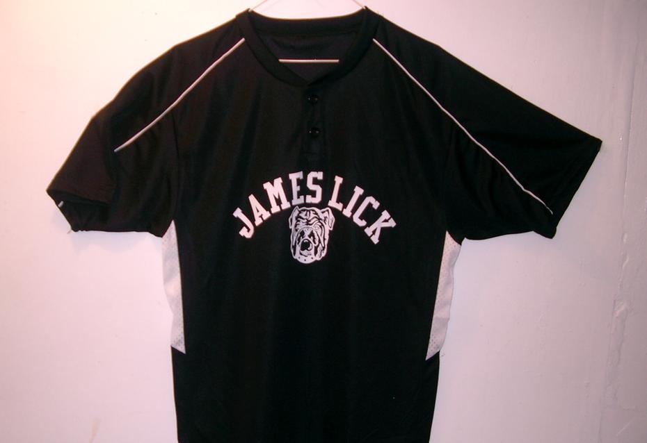 James Lick Middle School Baseball Uniform