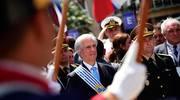 URUGUAY: Traspaso de la Banda Presidencial.
