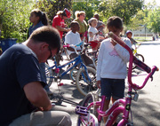 Bycicle Safety at the Fall Festival