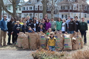 2014 Chatham Square Park Cleanup