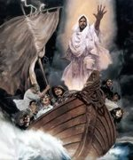 Jesus Calming The Sea