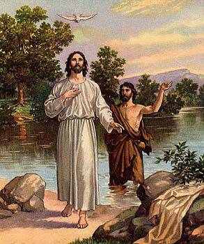 Jesus After His Baptism