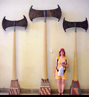 giant axes