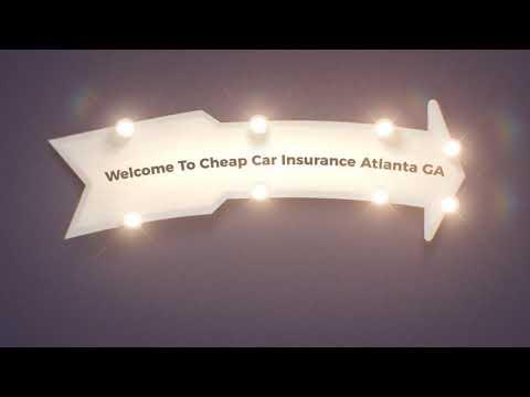 Cheap Car Insurance in Atlanta GA