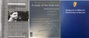 The 3 Texts of The Irish Constitution (BUNREACHT NA hÉIREANN) in one Document