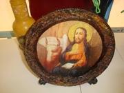 Πιάτο με Ευαγγελιστής Λουκάς