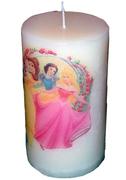 Κερί με τις πριγκίπισσες Disney
