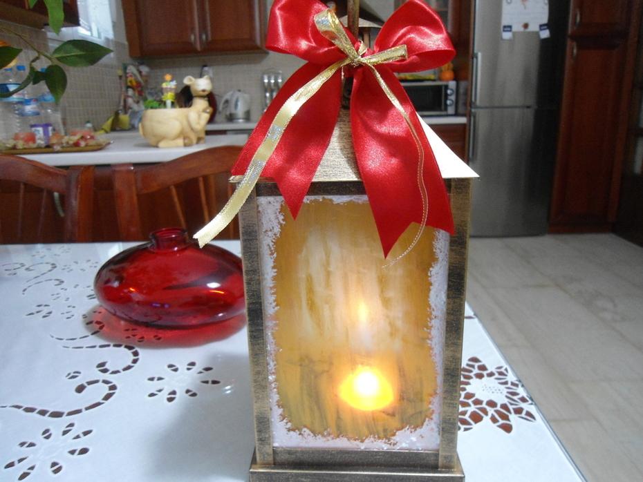 """""""χριστουγεννιατικο φαναρακι"""""""