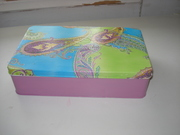 παλιό μεταλλικό κουτί και έγινε καινούργιο