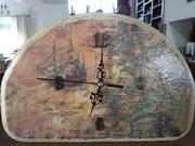 Ρολόι - παλιός χάρτης