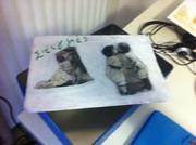 καπάκι σε κουτί με φωτογραφίες