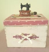 ξυλινο κουτι για ραπτικα