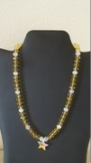 Yellow & Clear Beads with Star