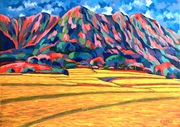 Rice Field at Hoa-tang Valley (4)稻鄉,花東(4)