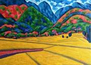 Rice Field at Hoa-tang Valley;稻米的故鄉