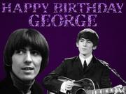 Celebrate George's Birthday February 25