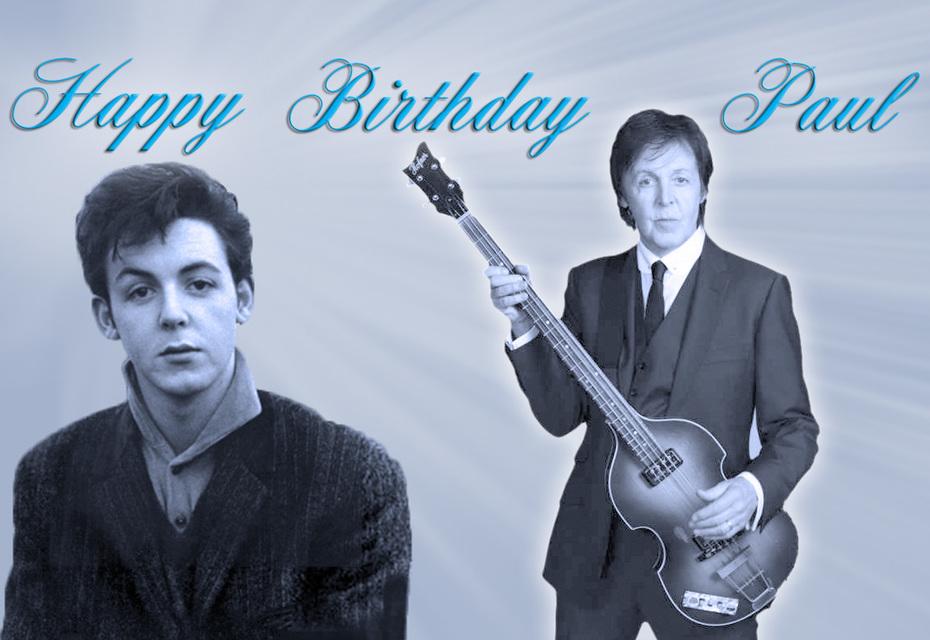 Happy Birthday Paul, June 18, 1942