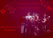 Happy Birthday BeatleGirl, 12/6/17  :-)