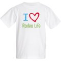Youth I Love Rodeo Life T-shirt