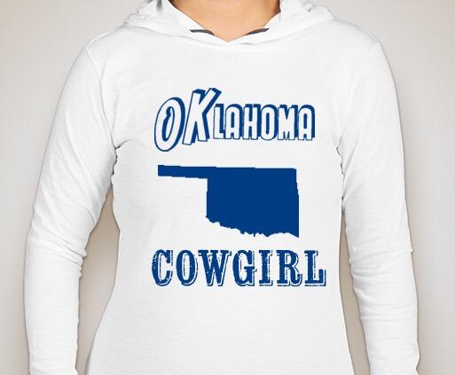 Oklahoma Cowgirl Hoodie