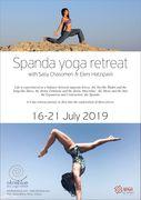 Spanda Yoga retreat with Sasy Chasomeri & Eleni Hatzipavli