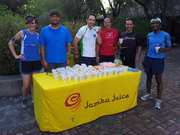 Jamba Juice at Wednesday Night Run on 4/24/13