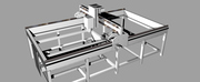 4 axis cnc router design.