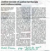 2011.09, le 5 - Réforme territoriale - Ouest-France