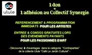 1 don = une adhésion au Collectif Synergie