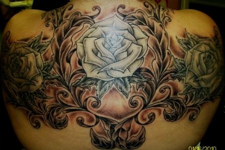 Fresh tattoo...no longer fresh. All B/W.
