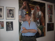 John C. Kuchera at Theater for The New City Gallery in the East Village NYC June 2011
