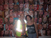 Steve Orr and Clare Cooper at Theater for The New City Gallery in the East Village NYC June 2011