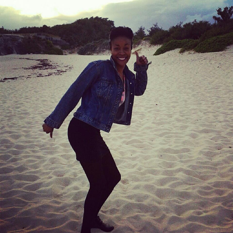 Bermuda beach after 5 years living in europe! xmas 2013 !