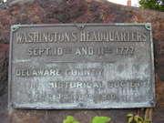 Washington's Headquarters Marker