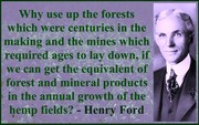 Henry Ford on Industrial Hemp