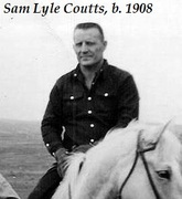 Sam Lyle Coutts, b. 1908