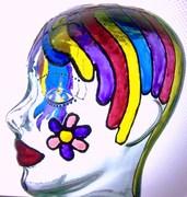 Goo and glitter heads
